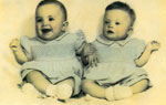 Judith Scott and Twin Sister as Babies